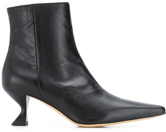 Kalda Leather Ankle Boots