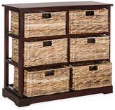 Safavieh Keenan 6-Wicker-Basket Storage Chests