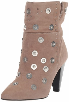 LFL by Lust for Life Women's L-Casablanca Fashion Boot Taupe Suede 7.5 M US