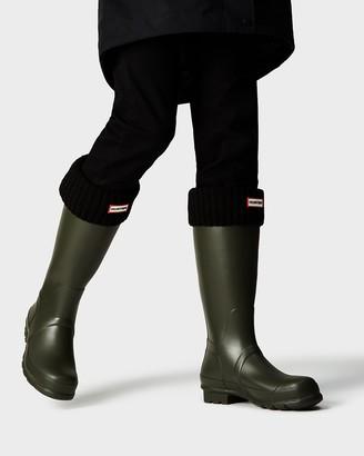 Hunter Half Cardigan Knitted Cuff Tall Boot Socks