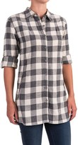Stillwater Supply Co. Buffalo Plaid Flannel Tunic Shirt - Long Sleeve (For Women)