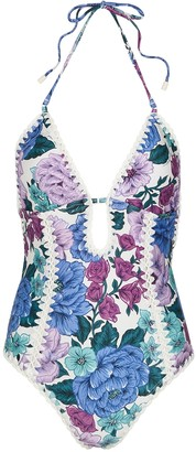 Zimmermann Poppy floral-print swimsuit