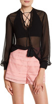 Finders Keepers Marconi Long Sleeve Blouse