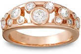 Disney Diamond Icon Mickey Mouse Ring for Women - 14K Rose Gold