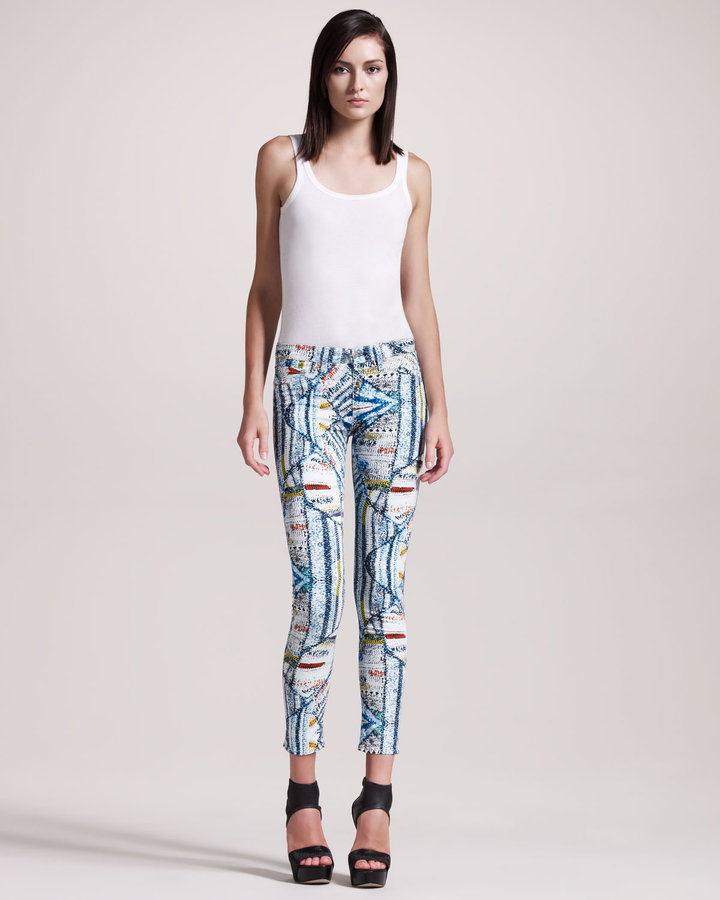 Rag and Bone The Legging Jeans, Surf Knit