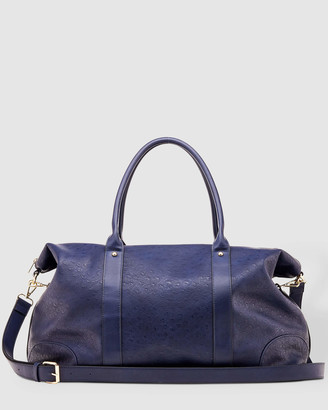 Louenhide - Women's Navy Weekender - Alexis Weekender Bag - Size One Size at The Iconic