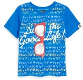 Andy & Evan Toddler Boy's Living The Good Life Sunglass T-Shirt