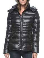 Andrew Marc Hooded Premium Down Jacket for Women (XL, )