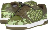 Heelys Plus X2 (Little Kid/Big Kid) (Dark Green/Camo) Boy's Shoes