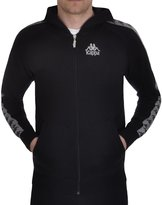 Kappa Warsus Mens Slim Fit Track Jacket - Blk - S