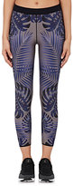 Ultracor Women's Miami-Print Microfiber Performance Leggings