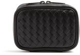 Bottega Veneta Intrecciato leather cufflink case
