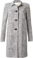 Bandolera Long B&W Coat