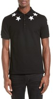 Givenchy Men's Star 74 Cuban Fit Polo