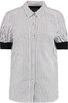 Marc by Marc Jacobs Striped cotton-poplin shirt
