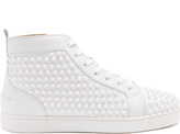 Christian Louboutin Louis spike-embellished high-top trainers
