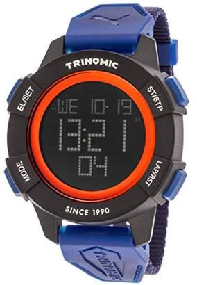 Puma Trinomic Men's Quartz Watch with LCD Dial Digital Display and Nylon Strap PU911271002