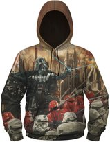 Star Wars Darth Vader Epic Lord Men's Sublimated Zip Hoodie