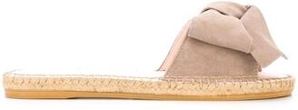 Manebi Bow Detail Slip-On Espadrilles