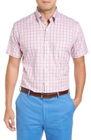 Peter Millar Men's Track Regular Fit Plaid Sport Shirt