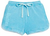 Butter Shoes Girls' Fleece Logo Shorts - Sizes S-XL