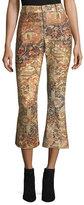 Frame Persian Printed Flared Pants