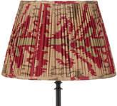 OKA 50cm Pleated Madura Silk Empire Lampshade