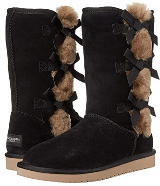 Koolaburra By Ugg by UGG Victoria Tall (Black) Women's Boots