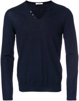 Paolo Pecora fitted knitted sweater