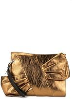 Paule Ka bow-detail clutch