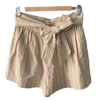 Ulla Johnson Beige Cotton Shorts