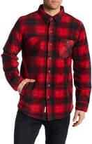 Weatherproof Fleece Lined Plaid Jacket