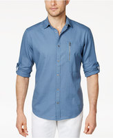 INC International Concepts Men's Textured Ripstop Shirt, Created for Macy's