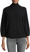 Max Mara Bracelet-Sleeve Turtleneck Sweater
