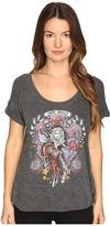 Just Cavalli Dolly Parton Short Sleeve Scoop Neck T-Shirt Women's T Shirt