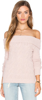 Free People Cable Foldover Top