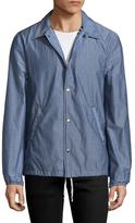 Save Khaki Chambray Warm Up Cotton Jacket