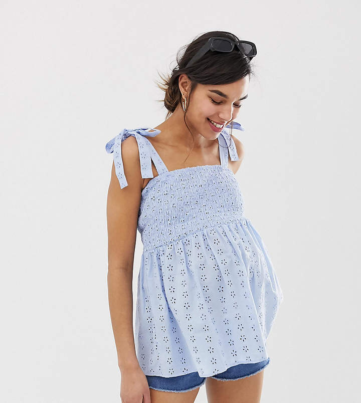 afbb0767afc84 Asos Maternity Tops - ShopStyle