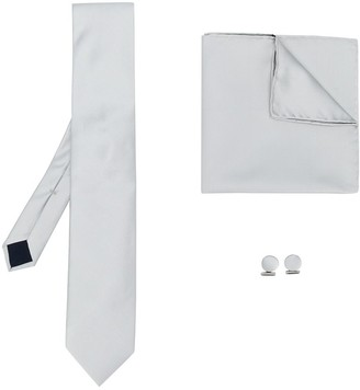 Corneliani Tie And Cufflinks Set