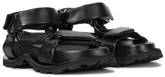 Jil Sander Trekking leather sandals