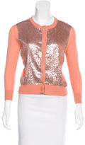 L'Wren Scott Cashmere-Blend Embellished Cardigan