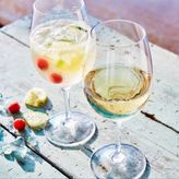 Sur La Table Acrylic Outdoor Wine Glasses, Set of 4