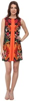 Ted Baker Barbee Tropical Toucan Pleat Tunic