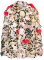 Saint Laurent oversized patterned jacket