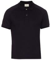 Gucci Snake-appliqué Cotton-blend Polo Shirt