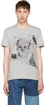 Alexander McQueen Grey London Map T-Shirt