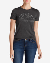 Eddie Bauer Women's Graphic T-Shirt - Tent Life