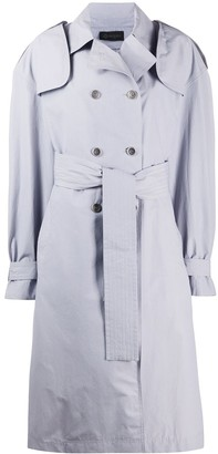 Mr & Mrs Italy Double Breasted Trench Coat