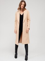 Thumbnail for your product : Very Relaxed Edge To Edge Coat - Camel
