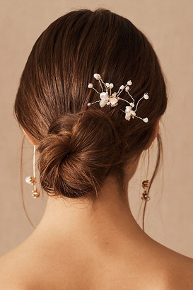 Anthropologie A.B. Ellie Chandra Hair Pins By in Gold Size ALL